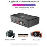 Wireless Bluetooth 5.0 Receiver RCA aptX LL NFC 3.5mm best Audio Aux Jack P7D7