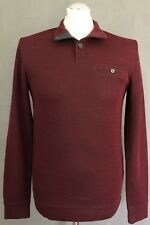 TED BAKER Mens Purple CLEEOW WOOL BLEND JUMPER - Ted Size 2 - Small S