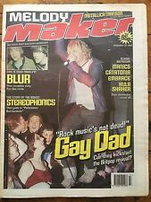 Melody Maker 20/2/99 Gay Dad, Blur, Lauryn Hill, Propellerheads, Free Posters