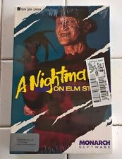 A Nightmare on Elm Street for Commodore 64/128, NEW FACTORY SEALED, Monarch