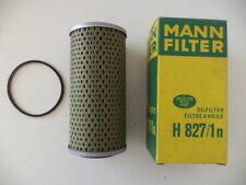 MANN H827/1N REPLACEABLE OIL FILTER DODGE K,JAGUAR E,MF 100, PERKINS 4-SERIES.