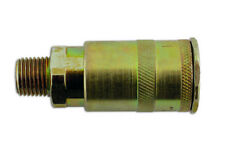 "FASTFLOW SINGLE ACTION MALE AIR LINE COUPLING 1/4"" BSP PK 3 (CONSUMABLES)"