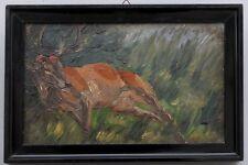 Liegender Hirsch, Heinrich Arnold, Impressionist