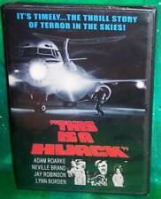 BRAND NEW RARE OOP CODE RED ADAM ROARKE THIS IS A HIJACK CULT MOVIE DVD 1973