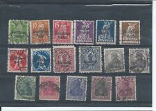 Germany stamps. Early used lot CV £45+ (C176)
