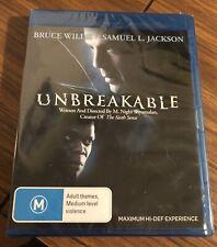 Unbreakable (Blu-ray, 2008) Brand New!