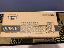 Klipsch Quintet Home Theater Speaker System 1010440