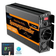 Power Inverter 12V 220V Onda Sinusoidale Pura 1000W 2000W Softstart EDECOA