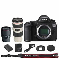 Canon EOS 5DSR / 5DS R DSLR Body + EF 16-35mm + 70-200mm f/4L IS USM Lens