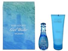 DAVIDOFF COOL WATER WOMAN GIFT SET 30ML EDT + 75ML BODY LOTION - WOMEN'S. NEW