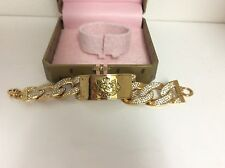 VERY RARE AUTHENTIC JUICY COUTURE BRACELET DOG COLLAR  TAGGED BOX DOGGY COUTURE
