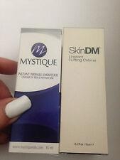 MYSTIQUE & SKINDM - 2 PIÈCES instantané ride soin lissant visage yeux lift crème