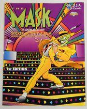 The Mask Animated Series Sticker Album 1st Edition New ^ Unused