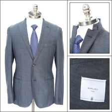 $1,495 NWT BOGLIOLI Steel Blue/Gray Birdseye Unconstructed Wool K Jacket 48 38 R