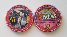 $5 Las Vegas Palms Only In Las Vegas Casino Chip - Uncirculated