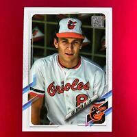 Cal Ripken Topps 2021 Series 1 SP Photo Variation Card #29 Baltimore Orioles HOF