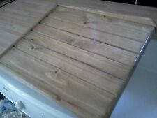 LARGE BELFAST   DRAINING BOARD  /SINK DRAINER .OAK  STAINED ...OR PINE