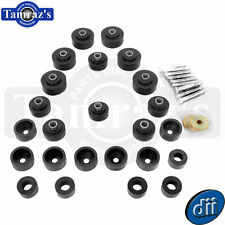 65-6 Impala Biscayne Body Bushing Kit W/Bolts & Washers