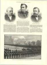 1890 Mr George Hooper Field Marshal Sir Lintorn Simmons Reverend Fw Gotch