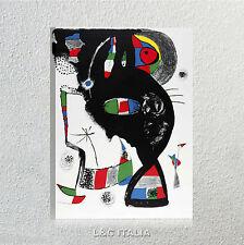 Joan Mirò QUADRO MODERNO ASTRATTO ARTE ARREDAMENTO CASA STAMPA TELA QUADRI ART