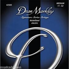 Juego de cuerdas guitarra Dean Markley MED 11-52