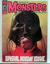 1976 FAMOUS MONSTERS Filmland Magazine #123 Holiday Iss