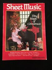 SHEET MUSIC MAGAZINE VOLUME 15-NUMBER 6 NOVEMBER/DECEMBER 1991 MAGIC CHRISTMAS