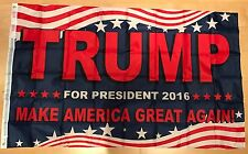 100x WHOLESALE LOT 3x5 Donald Trump For President Make America Great Again Flag