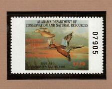 AL14 - Alabama State Duck Stamp.  Single. MNH. OG.