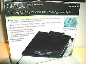 PENN PLAX DELUXE SIMPLICITY LED LIGHT
