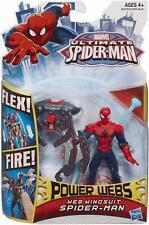 Marvel Ultimate Spiderman Web Wingsuit Power Webs Action Figure Brand New
