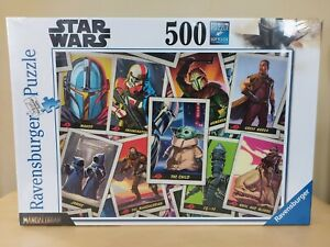 NEW Ravensburger Star Wars Mandalorian The Child 500 Piece Jigsaw Puzzle 16561