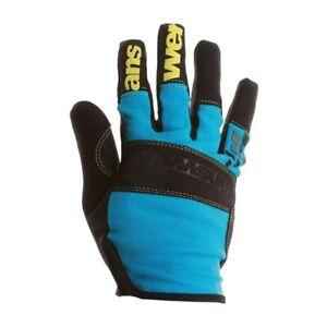 Answer Enduro Gloves Cyan/Team MTB NEW