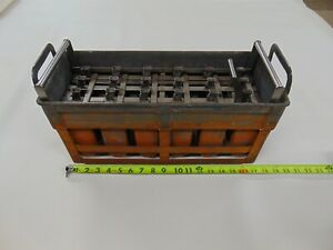 Vintage 1930's Industrial Popsicle / Ice Cream Copper Metal Mold 24 Bars Rare!!!