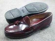 Bass Men's Size 13 D - Brewster Tassel Slipon Dress Shoe - Burgundy