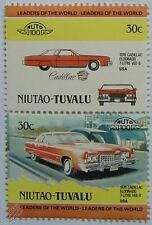 1976 CADILLAC ELDORADO 7-LITRE VEE-8 Car Stamps (Leaders of the World/Auto 100)