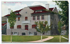 Stratton Hall Golden Colorado 1910c postcard