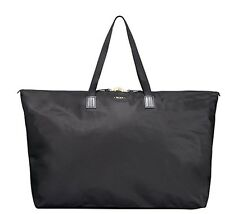 NEW Tumi Voyageur Just In Case Travel Duffel Black Add-a-Bag sleeve Nylon