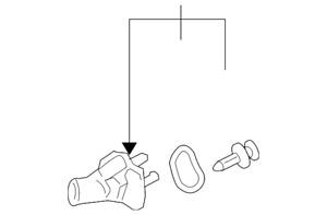 Genuine Mazda Thermostat Unit L336-15-170