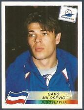 PANINI WORLD CUP FRANCE 1998- #405-JUGOSLAVIJA-YUGOSLAVIA & VILLA-SAVO MILOSEVIC