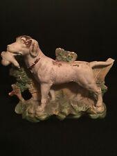 Antique~ Beautiful Bird Dog Statue Hunter~