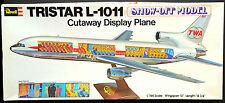 REVELL Kit No.H-196, Tristar L-1011 SHOW OFF MODEL, TWA, -MIB & COMPLETE, 1973