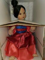 Disney Baby Mulan Full Size & Tiny Tot Marie Osmond Dolls NIB COA  Porcelain