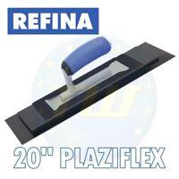 """REFINA 20"""" PlaziFLEX Trowel Foam Back Plastic Plastering Skimming Trowels 228180"""
