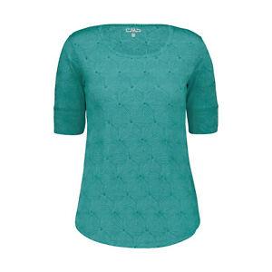 CMP Damen Funktions - T-Shirt Flower Devore Lake