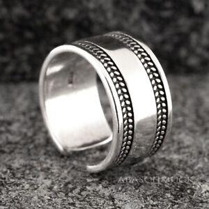 Silberring Silber 925 Ring  Verstellbar Offen R0629 💢