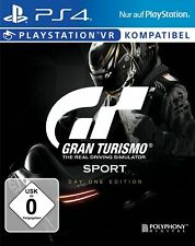 Gran Turismo Sport - Day 1 Edition (Sony PlayStation 4, PS4, 2017) VR-Kompatibel