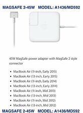 New Genuine Original APPLE MacBook Air Mag 2 45W Power...