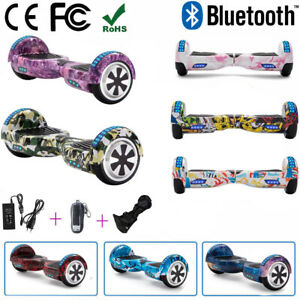 Hover 6,5 Electric Scooter Bluetooth 2 wheels self balance Skateboard + Bag