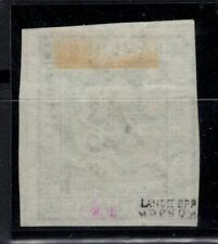 T4240/ GERMANY – HAMBURG – MI # 9 USED SIGNED LANGE BPP – CV 210 $